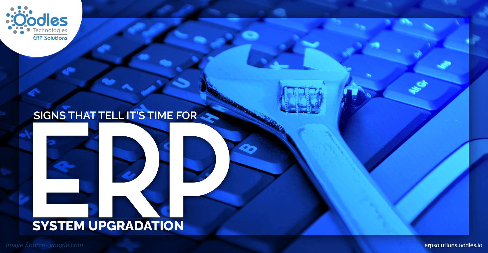 ERP System Upgradation