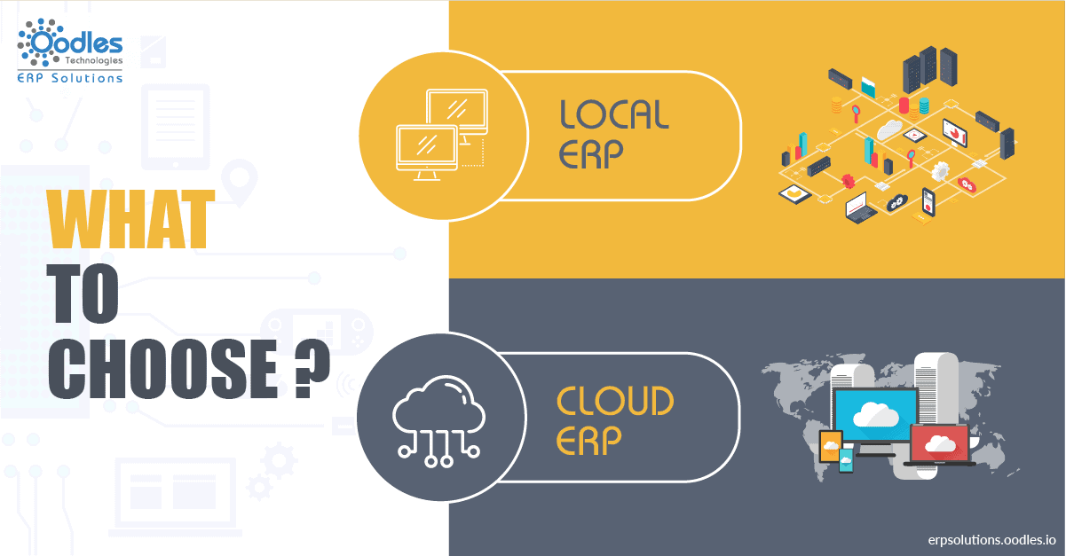 Cloud ERP Vs Local ERP