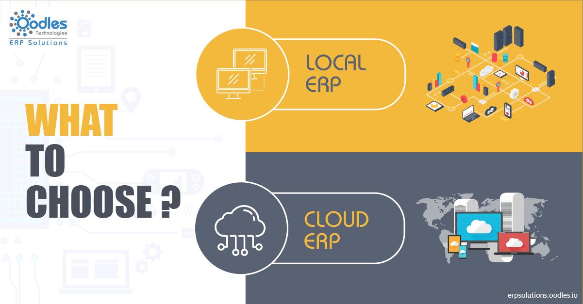 Cloud ERP Vs Local ERP