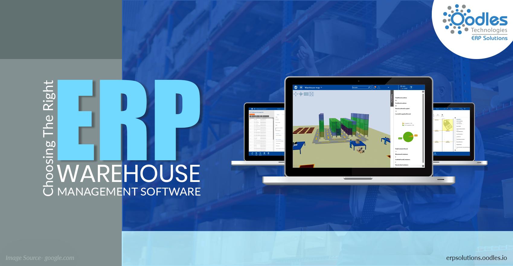 ERP warehouse management software