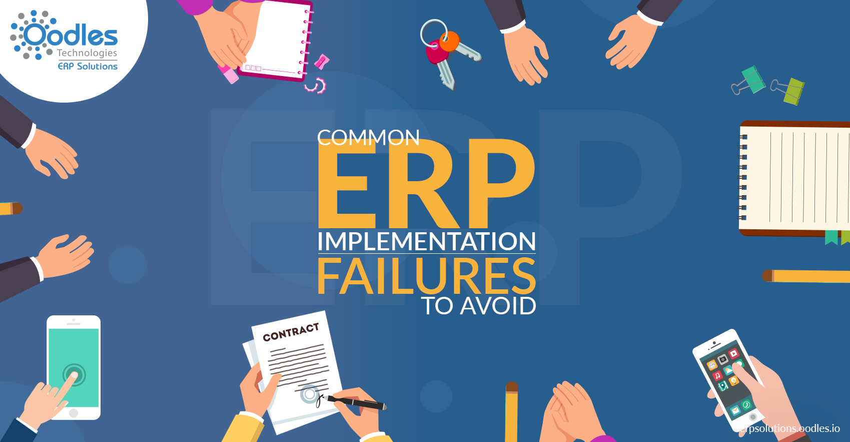 Top ERP implementation failures that you can avoid