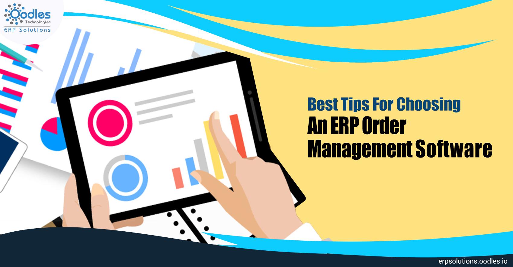 ERP Order Management Software