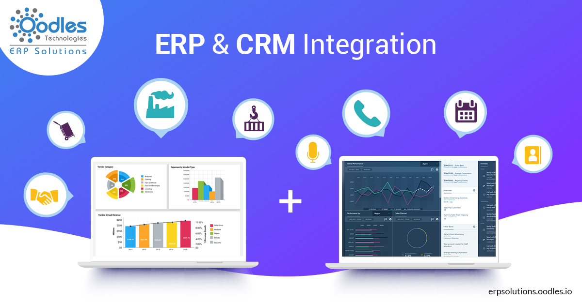 integrating ERP CRM