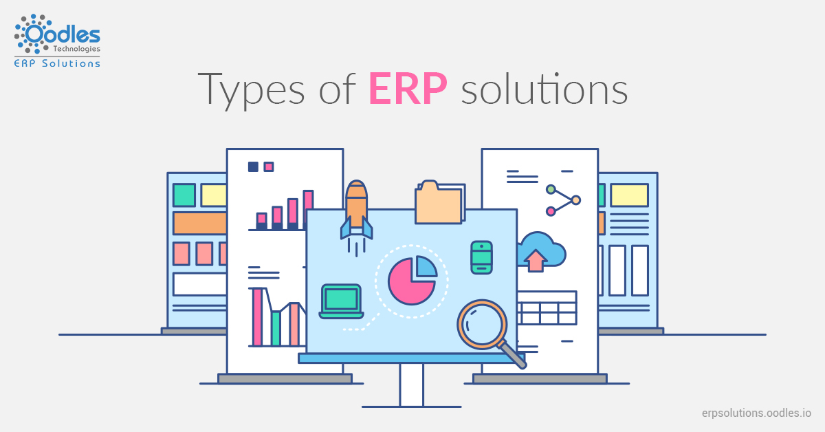 types of ERP solutions