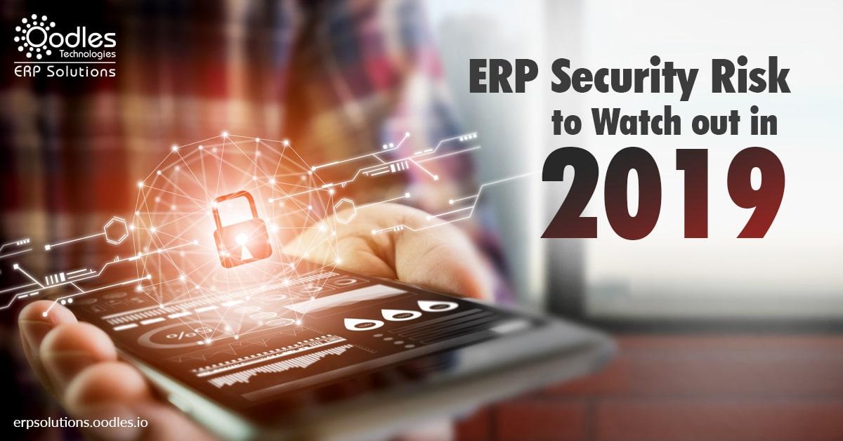 ERP security risks 2019