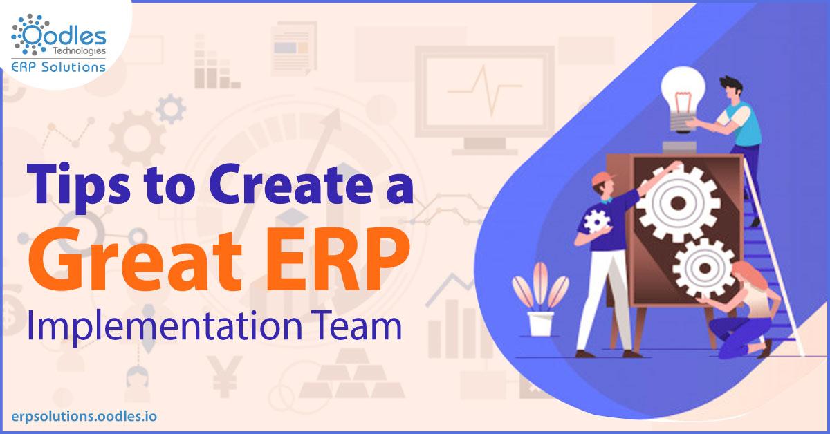 ERP Implementation team
