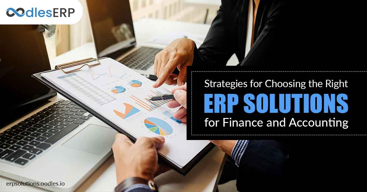 ERP Solutions for Finance and Accounting