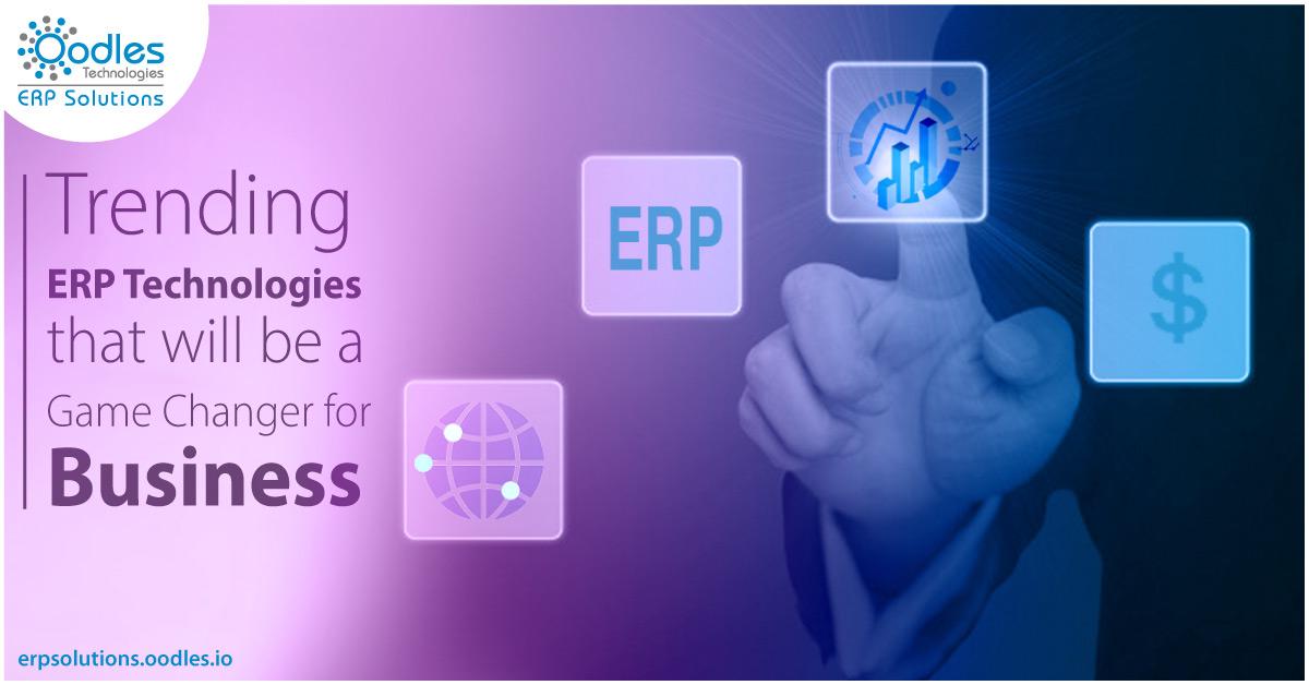 Trending ERP Technologies