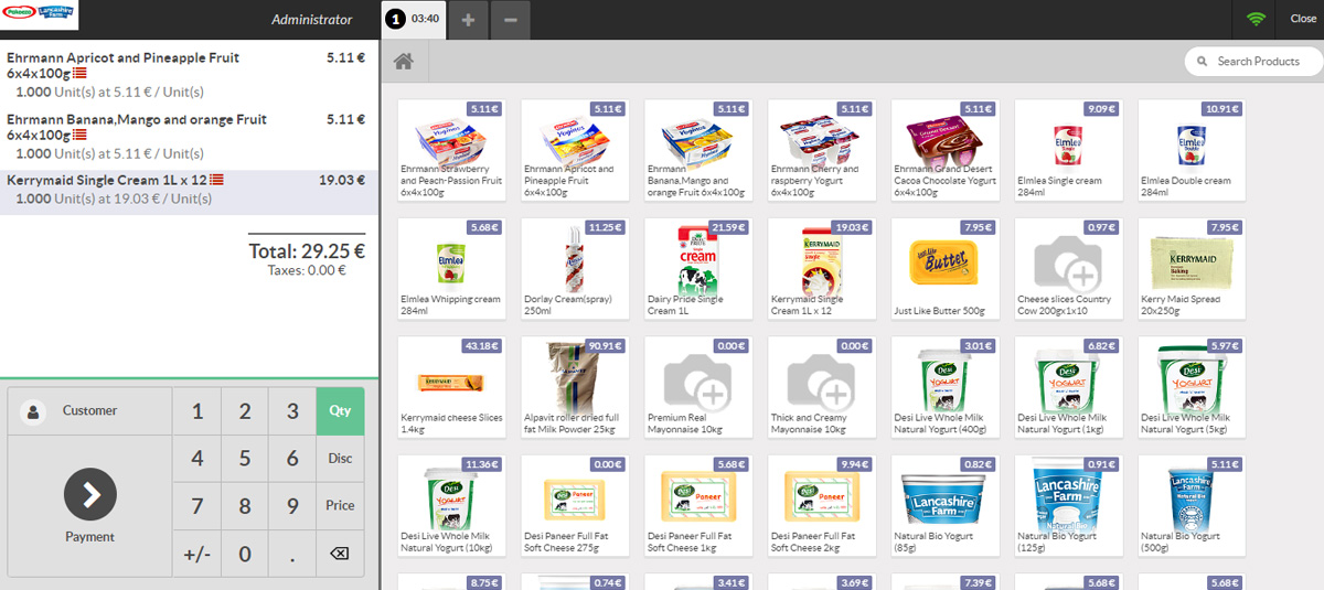 Odoo's Point of Sales Module