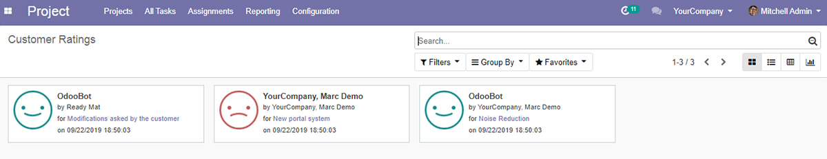 Odoo's Project Management Module