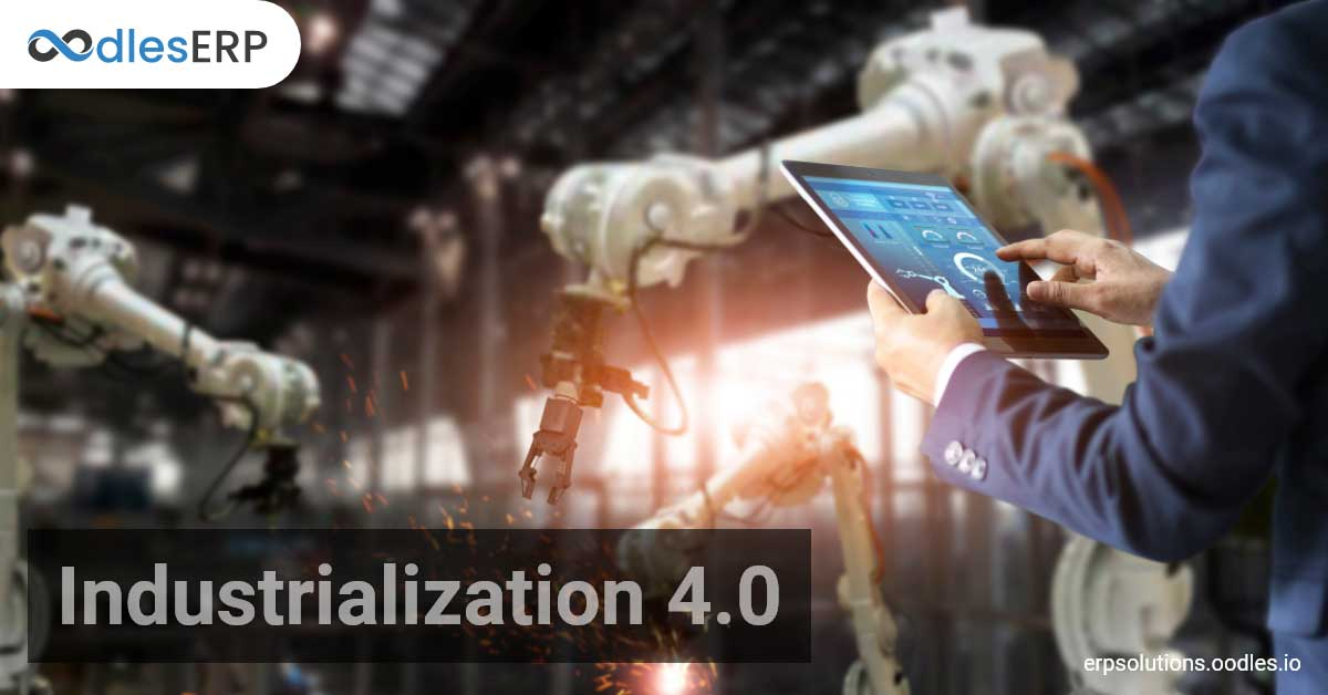 Industry 4.0 and ERP software development services