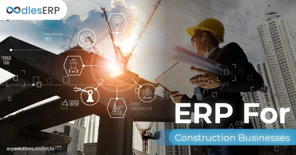 ERP for the construction industry